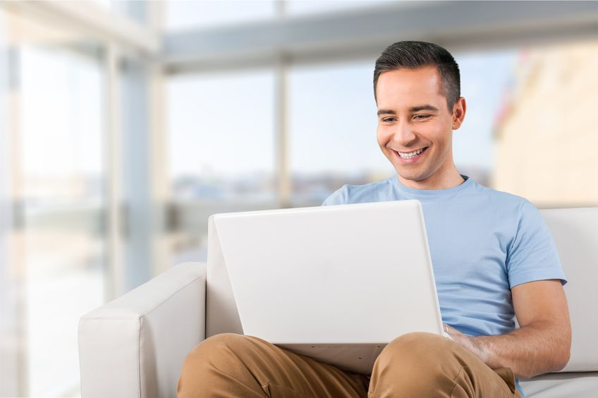 Image result for person on computer